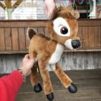 画像9: Vintage Plush Doll Disney Bambi 47cm (T861)