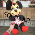 Vintage Plush Doll Disney Minnie Mouse (T851)
