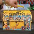 画像1: Vintage Disney Lunch Box School Bus (T869) (1)