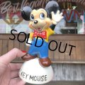 50s Vintage Disney  Mickey Mouse Ceramic (T863)