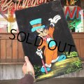 Vintage Disney Oil Paint Art Mickey Mouse (T873)