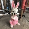 60s Vintage Rubber Doll Bunny (T922)
