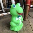 画像2: 70s Vintage Rubber Doll Frog (T920) (2)