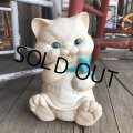 70s Vintage Rubber Doll Kitty Cat (T928)