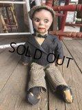 30s Vintage Charlie McCarthy Composition Ventriloquist Doll (J087)