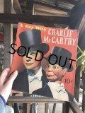 Vintage Charlie McCarthy Book (T940)