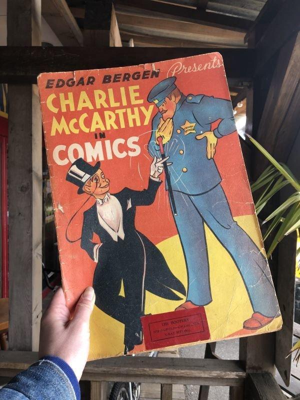 画像1: Vintage Charlie McCarthy Book (T942)
