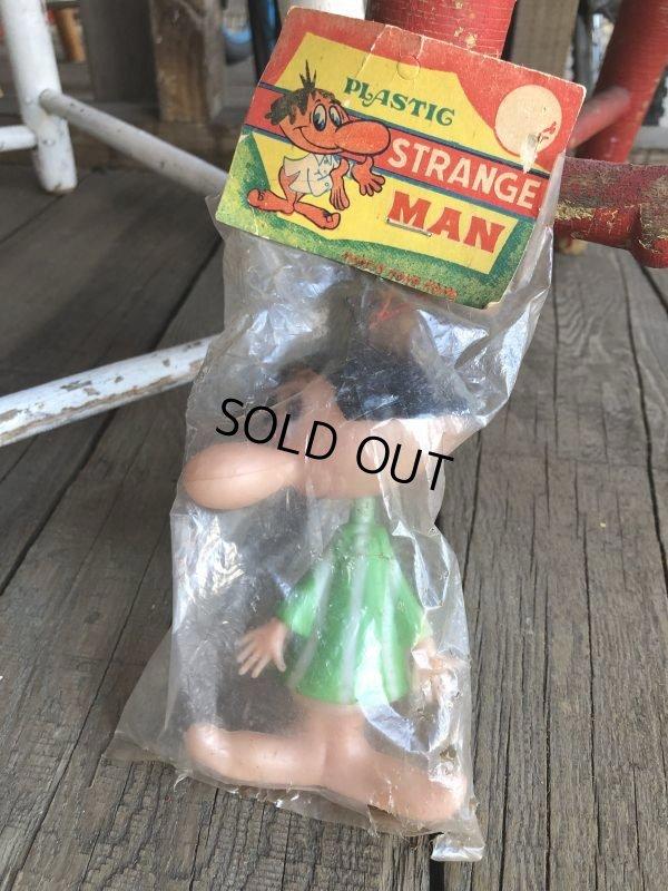 画像1: Vintage Strange Man Figure M.I.P green (T948)