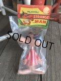 Vintage Strange Man Figure M.I.P red (T949)
