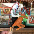 Vintage Jack in the Box Ornament Figure (T969)