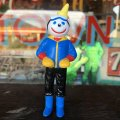 Vintage Jack in the Box PVC Figure F (T957)