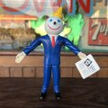 Vintage Jack in the Box Bendable Figure B (T953)