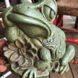 画像3: 60s Vintage Thinking Frog Plastic Bank (T983)