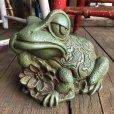 画像5: 60s Vintage Thinking Frog Plastic Bank (T983)
