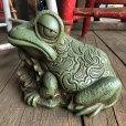 画像6: 60s Vintage Thinking Frog Plastic Bank (T983)
