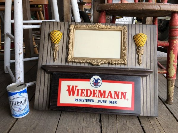 画像2: Vintage Weideman Beer & Ale Lighted BAR Sign (T984)