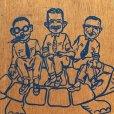 画像14: Vintage Wooden Creeper Pepboys (T985)