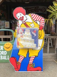 Vintage McDonalds Store Display Case for Happy Meal toys (T985)