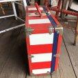 画像5: Vintage Groovy American Old Glory Stars and Stripes Roller Skates Carring Case Trunk (T409)