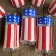画像5: Vintage Groovy American Old Glory Stars and Stripes Glass (T915)