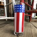 Vintage Groovy American Old Glory Stars and Stripes Glass (T918)