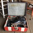 画像6: Vintage Groovy American Old Glory Stars and Stripes Roller Skates Carring Case Trunk (T409)