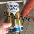 Vintage Beer Can Champagne Velvet (T942)