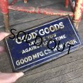 Vintage Can GOOD GOODS (T982)