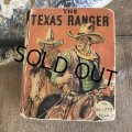 30s Vintage Book THE TEXAS RANGER (B009)