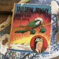 30s Vintage Book TAILSPIN TOMMY IN WINGS OVER THE ARCTIC (B016)