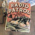 30s Vintage Book Radio Patrol (B006)