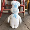 70s Vintage Pillsbury Doughboy Poppin Fresh Pillow Doll (B027)
