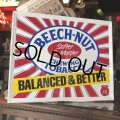 80s Vintage Beech-Nut Chewing Tobacco Store Display Sign (B053)