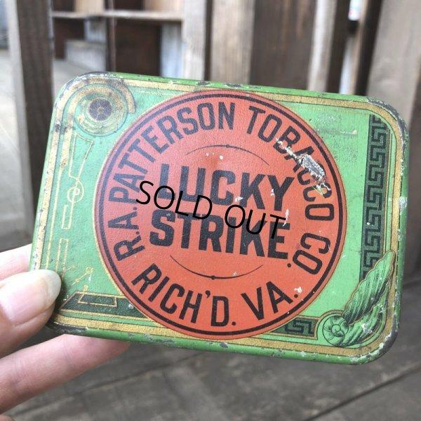 画像1: Vintage Lucky Strike Cigarette Tabacco Tin Can (B059)