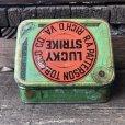 画像4: Vintage Lucky Strike Cigarette Tabacco Tin Can (B059)