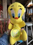 画像1: 70s Vintage MIGHTY STAR Plush Doll Tweety (B088) (1)