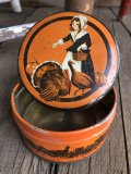 Vintage U.S.A  Advertising Tin Can (B135)