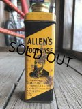 Vintage U.S.A  Advertising Tin Can ALLEN'S (B142)