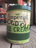 Vintage U.S.A  Advertising Tin Can Inmerial Ice Cream (B136)