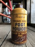 Vintage U.S.A  Advertising Tin Can FOOT POWDER (B143)