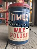 Vintage U.S.A  Advertising Tin Can TIMEX (B137)