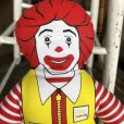 画像5: 80s Vintage McDonald's Pillow Doll Ronald 1984 (B137)