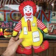 画像6: 80s Vintage McDonald's Pillow Doll Ronald 1984 (B137)