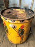 画像9: Vintage  ADCO SOAP PARROT Motor Gas Oil 5 Gallon Can (B134)