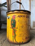 画像6: Vintage  ADCO SOAP PARROT Motor Gas Oil 5 Gallon Can (B134)