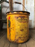 Vintage  ADCO SOAP PARROT Motor Gas Oil 5 Gallon Can (B134)