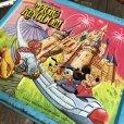 画像9: 70s Vintage Lunch Box Disney Magic Kingdom (B145)