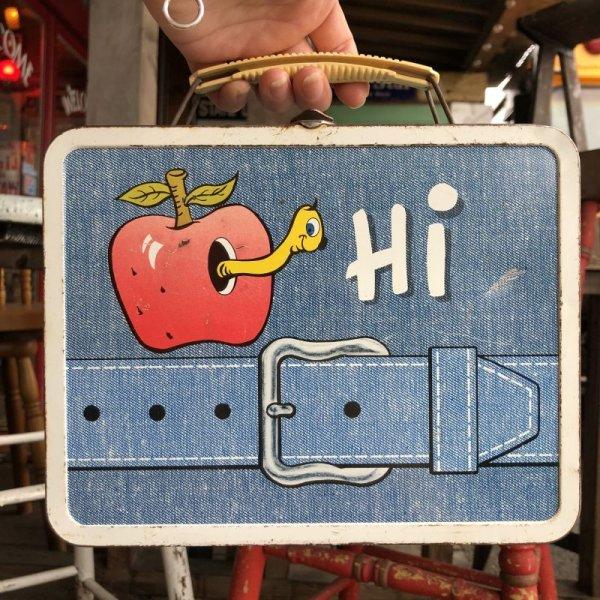 画像1: 70s Vintage Lunch Box Hi / My Lunch (B141)