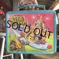 70s Vintage Lunch Box Disney Magic Kingdom (B145)