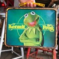 70s Vintage Lunch Box Muppets Kermit the Frog (B143)